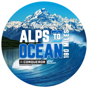 Alps to Ocean Virtual Challenge Apparel