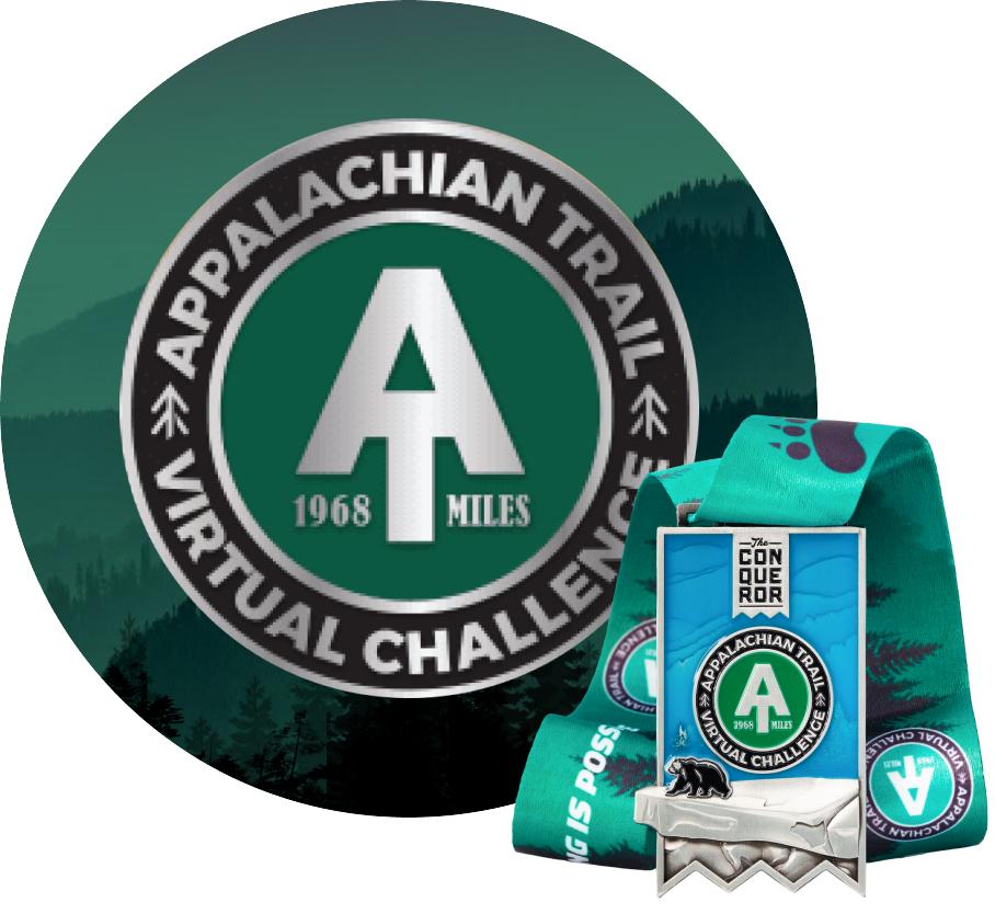 Appalachian Virtual Challenge | Entry + Medal