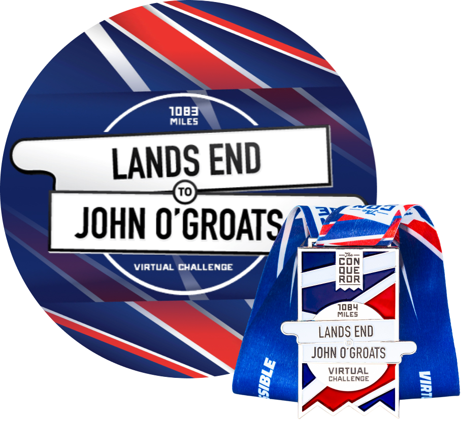 Lands End to John OGroats Virtual Challenge | Entry + Medal