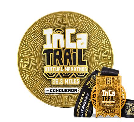 Inca Trail Virtual Marathon | Entry + Medal