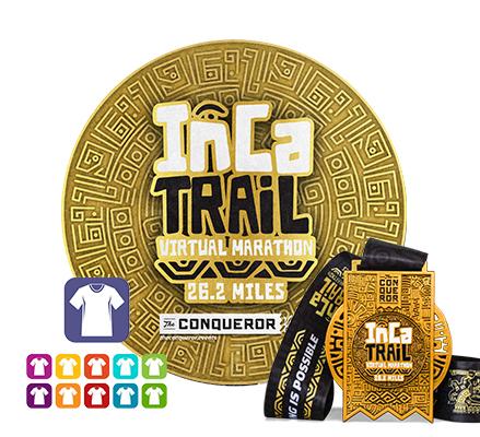 Inca Trail Virtual Marathon | Entry + Medal + Apparel