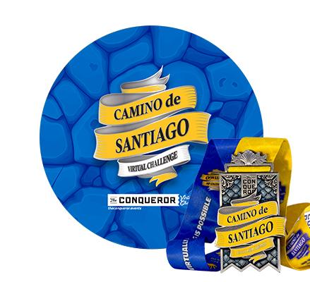Camino de Santiago Virtual Challenge | Entry + Medal