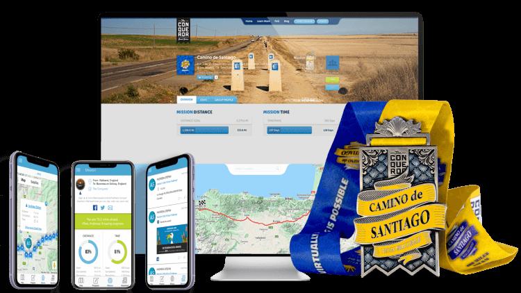 Camino de Santiago Virtual Challenge | Entry + Medal + Apparel ...