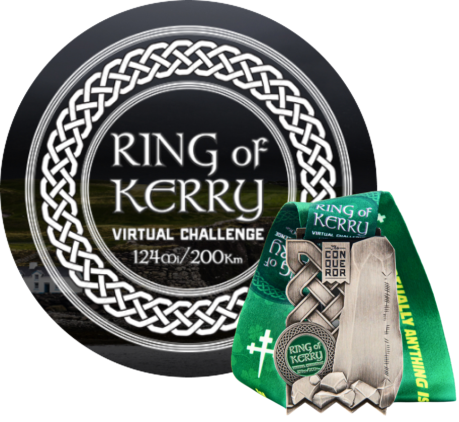 Ring of Kerry Virtual Challenge | Entry + Medal