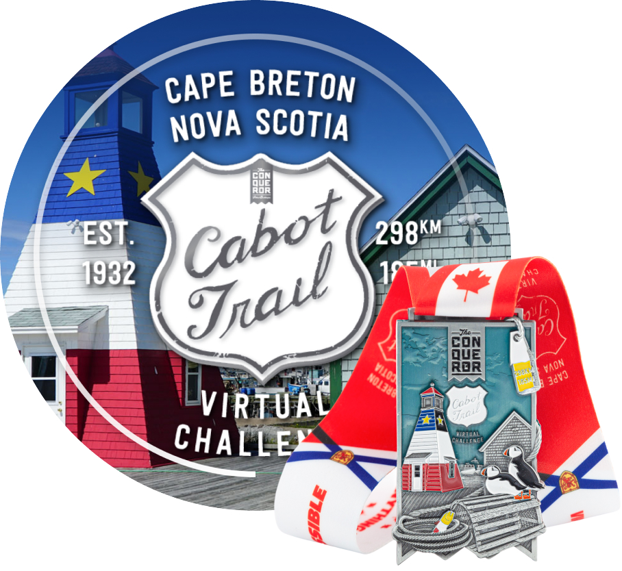 Cabot Trail Virtual Challenge | Entry + Medal