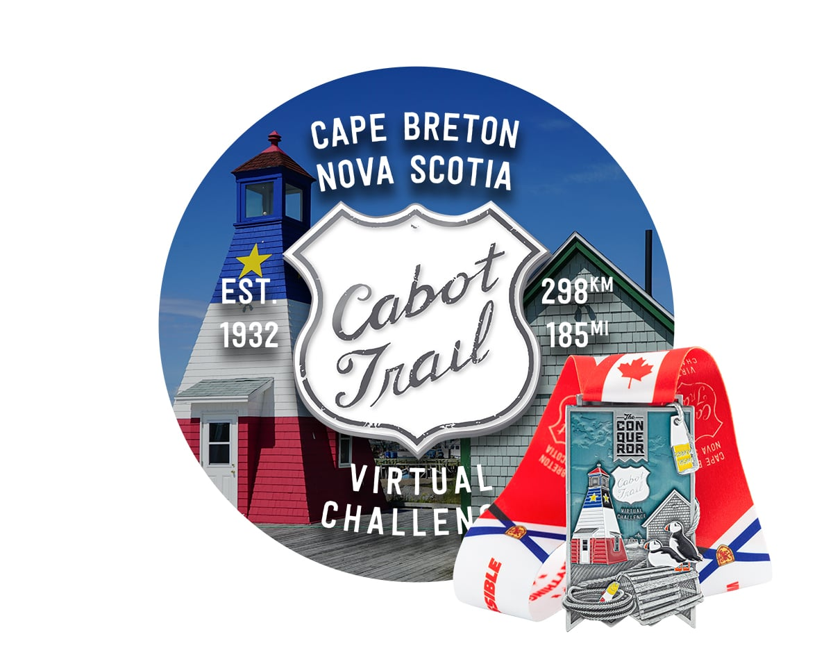 Cabot Trail Virtual Challenge   Entry + Medal