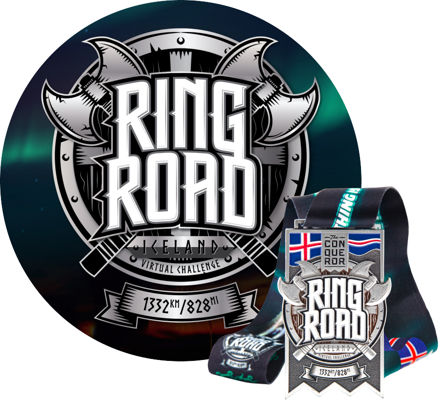 Ring Road Virtual Challenge   Entry + Medal