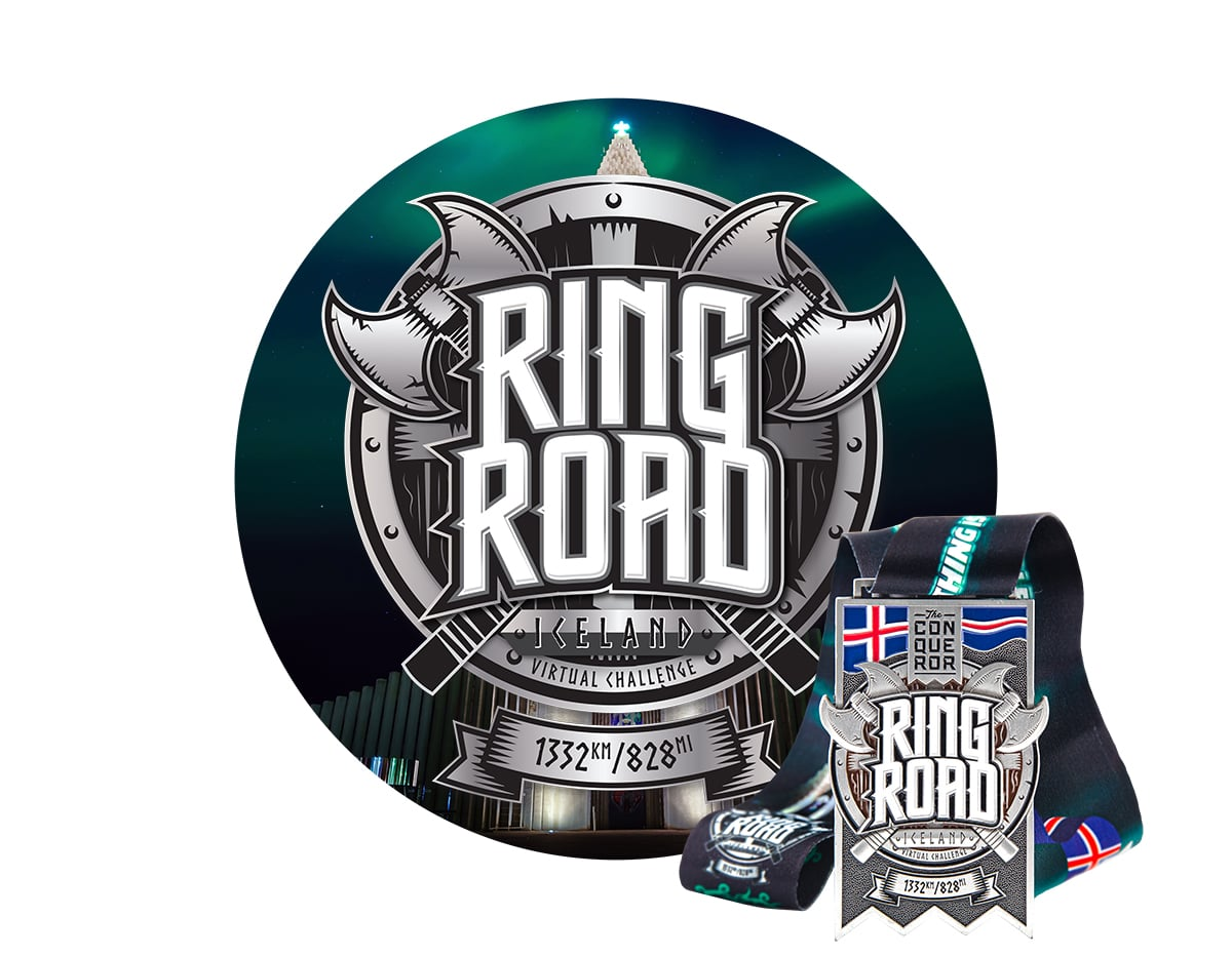 Ring Road Virtual Challenge | Entry + Medal