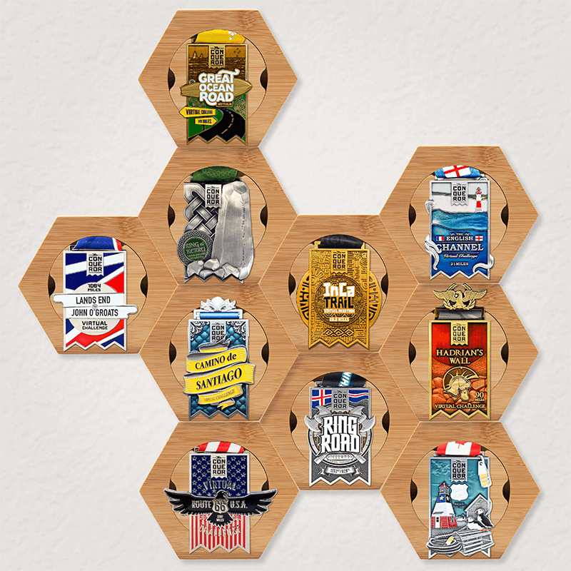 10x Honeycomb Medal Holder Pack