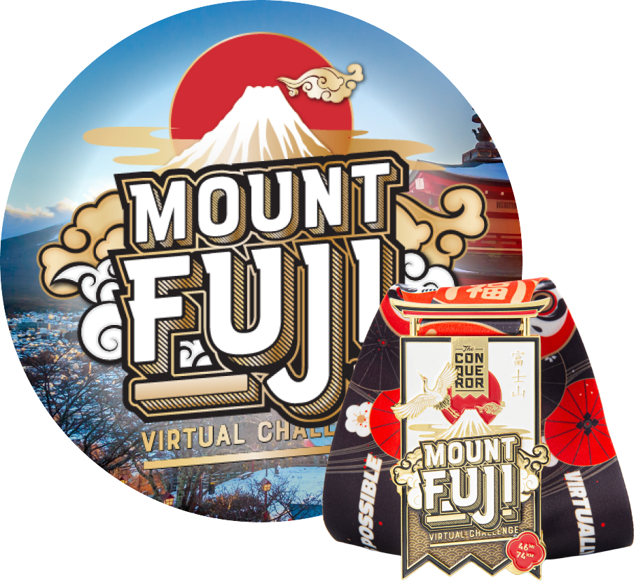 Mount Fuji Virtual Challenge | Entry + Medal