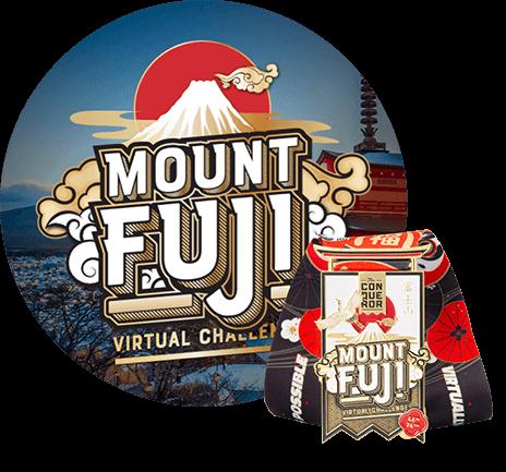 Mount Fuji Virtual Challenge | Entry + Medal