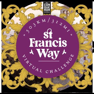 St Francis Way Virtual Challenge Apparel