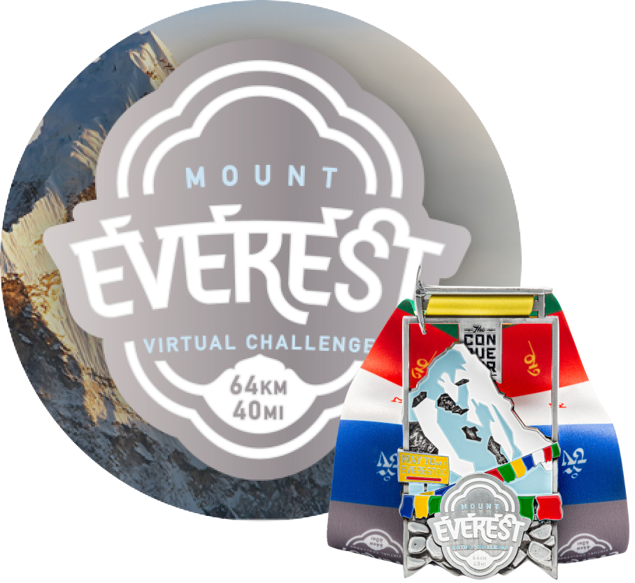 Mount Everest Virtual Challenge | Entry + Medal