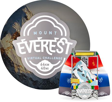 Mount Everest Virtual Challenge   Entry + Medal