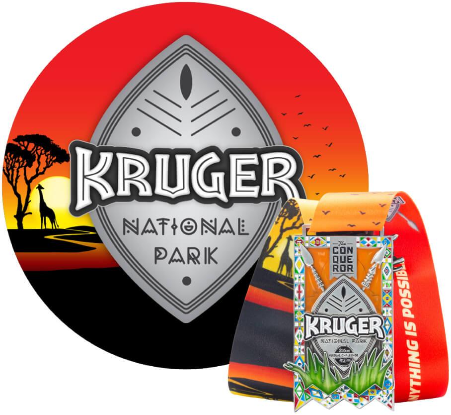 Kruger Park Virtual Challenge | Entry + Medal