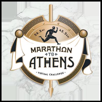Marathon to Athens Virtual Challenge Apparel